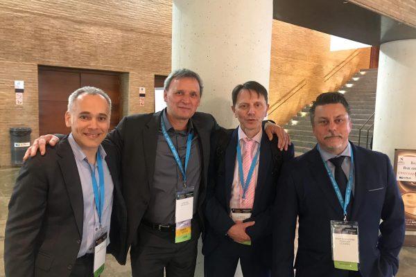 FOTO SECMA 2019 con Dr Salva, Heras Palou y Terrades